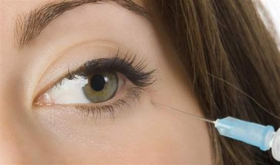 инъекции ботокса вокруг глаз